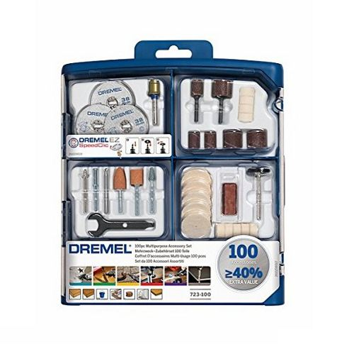 Dremel - Genuine Multipurpose Accessory Set - 100 Pieces