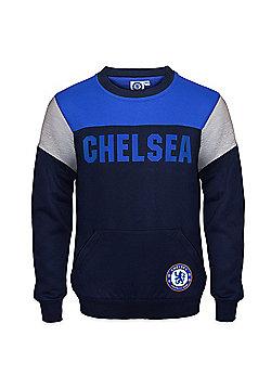 Chelsea FC Boys Sweatshirt - Navy