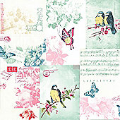 Songbird Song Sheet Wallpaper - 11260