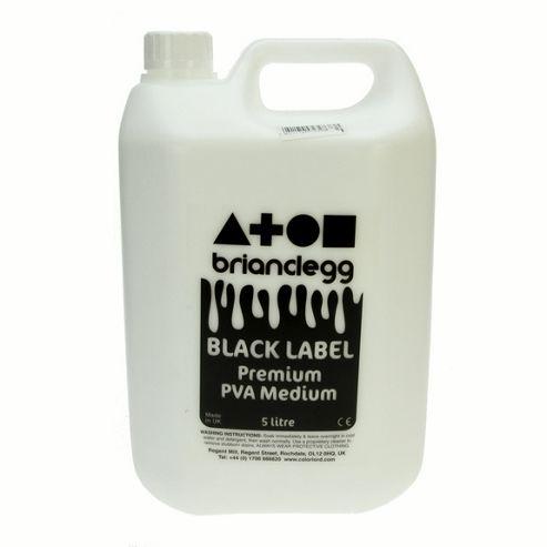 PVA Medium Black Label 5 litre