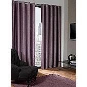 Logan Eyelet Thermal Blackout Curtains, Aubergine 229x229cm