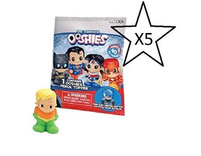DC Comics Ooshies Blind Bags - 5 Bags Supplied