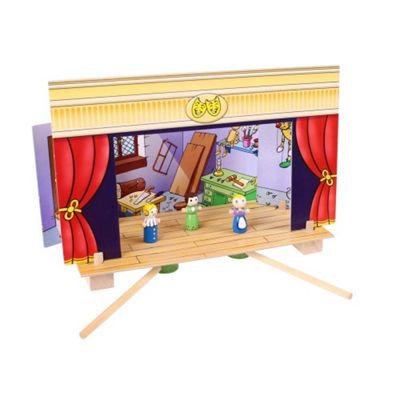 Bigjigs Toys BJ750 Magnetic Theatre