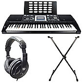 Axus Digital AXP25 Portable Keyboard Package - with 6 Months Free Online Lessons