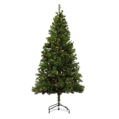 Buy 6ft Pre-Lit Christmas Tree from our Christmas Trees range - Tesco