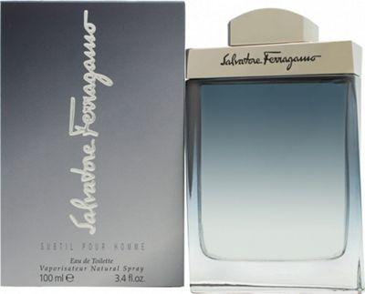 Salvatore Ferragamo Subtil Pour Homme Eau de Toilette (EDT) 100ml Spray For Men
