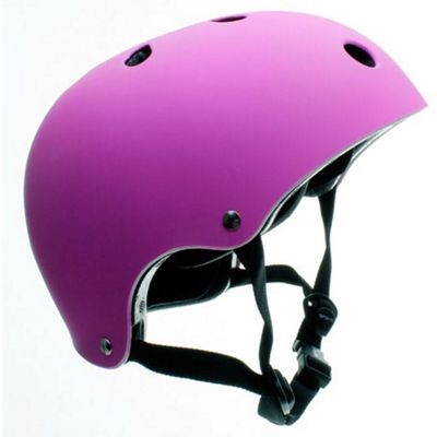 SFR Essentials Matt Fluo Purple Helmet