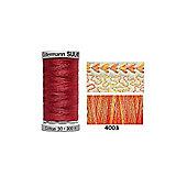 Gutermann Sulky Variegated Cotton 300m Sunset