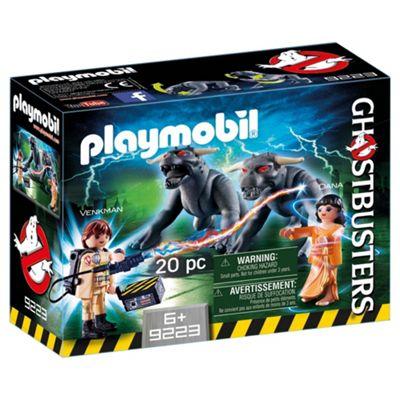 Playmobil 9223 Ghostbusters? Venkman With Terror Dogs