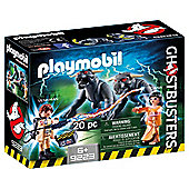 Playmobil Ghostbusters 9223 Venkman and Terror Dog