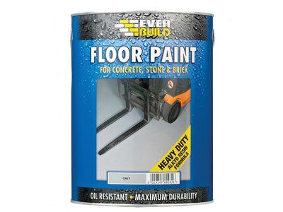 Everbuild Floor Paint Grey 5 Litre