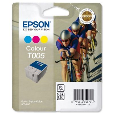 Epson T005 3 Printer Ink Cartridge - Tri-Colour