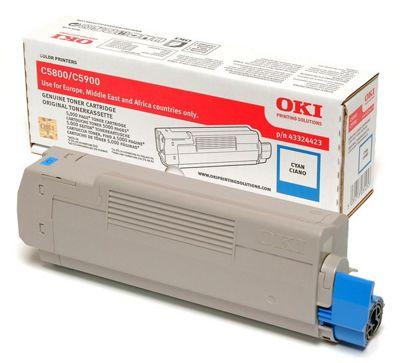 OKI Toner Cartridge for C5800/C5900 Colour Printers (Cyan)