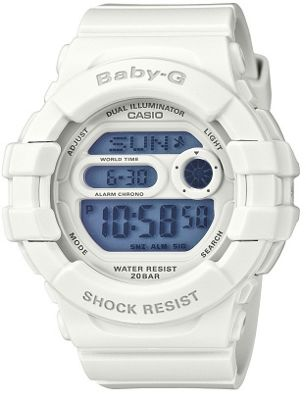 Casio Computer BGD140/7A Baby G Shock White Resin Strap