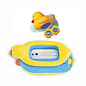 Munchkin White Hot Inflatable Duck Tub and Temperature Indicator
