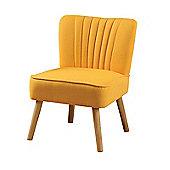 Lola Oyster Orange Retro Chair