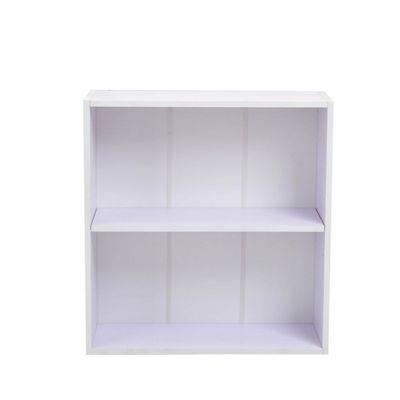Homcom Wooden Wood 2 Tier Storage Unit Chest Furniture