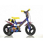 FC Barcelona 12inch Balance Bike Blue - DINO Bikes