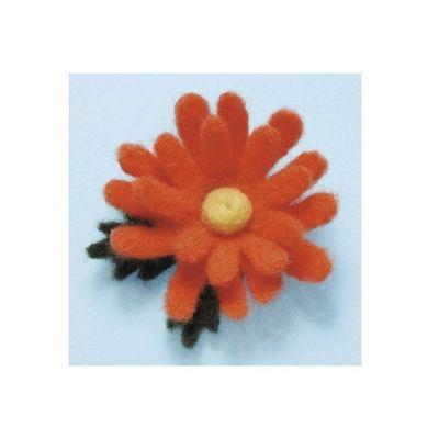 Clover Daisy Needle Felting Applique Mould