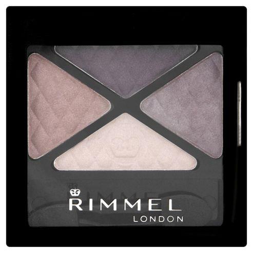 Rimmel Glam'Eyes Quad Eyeshadow Smokey Purple