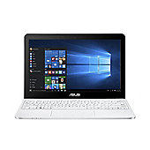 "ASUS E200 11.6"" Intel Atom 2GB RAM 32GB Storage Windows 10 Slim Laptop White"