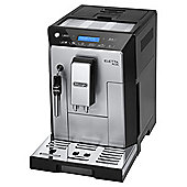 DeLonghi ECAM44.620S Eletta Plus Bean to Cup Coffee Machine - Black and Silver