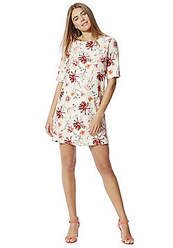 Only Floral Print Dress - Pink