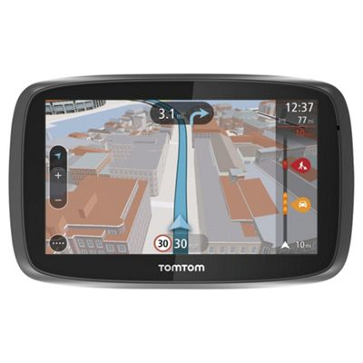 TomTom GO 500 5inch Sat Nav with Lifetime UK Maps & Lifetime Traffic updates