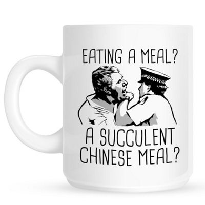 Eating A Meal A Succulent Chinese Meal 10oz Ceramic Mug