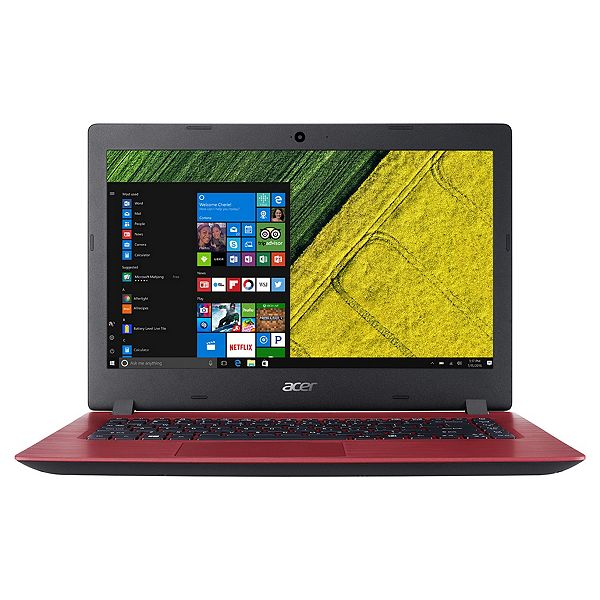 Acer Aspire 3 15 6'' Celeron 4GB RAM 1TB HDD Laptop - Red