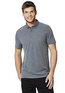 F&F Signature Mercerised Polo Shirt - Grey