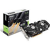 MSI GeForce GTX 1060 6GB Graphics Card