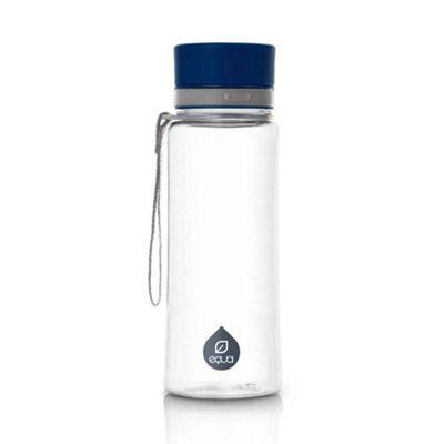 Equa Bottle Plastic BPA Free 600ml in Plain Blue