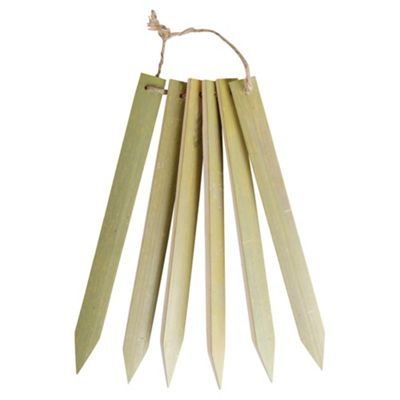 Fallen Fruits Long Bamboo Plant Labels (Set Of 6)