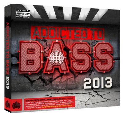 Ministry Of Sound: Addicted To Bass 2013 (3CD)