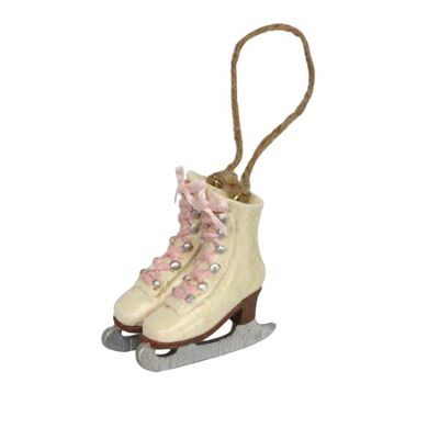 Victorian Ice Skate Christmas Tree Decoration