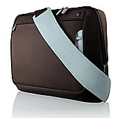 Belkin Messenger Bag for Notebooks - Chocolate / Tourmaline