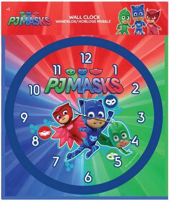 PJ Masks 25cm Wall Clock