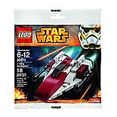 Lego Star Wars A-Wing Starfighter Set (in Plastic Bag) (30272)