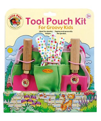 Little Pals Tool Pouch Kit in Pink for 3yrs+