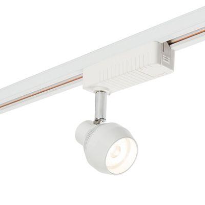 Bari 7W Spotlight Natural White Track Light Gloss White Paint