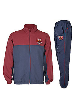 West Ham United FC Boys Tracksuit - Navy
