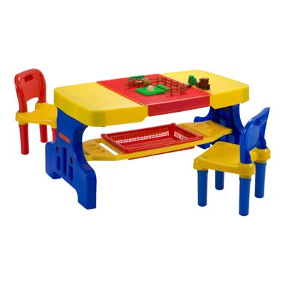 Giant Picnic Table with 2 Chairs