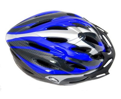 Coyote Sierra Dial Fit Adult Cycling Helmet Blue Large