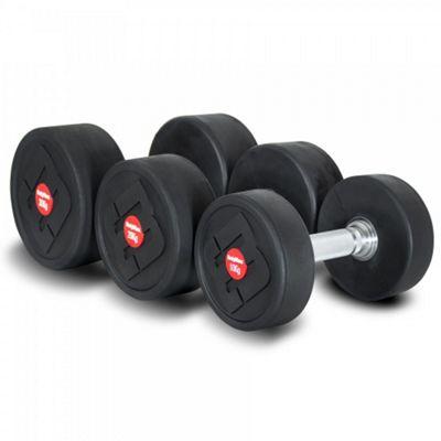 Bodymax Pro V4 Rubber Dumbbell Set 5, 15 Pairs 5-50Kg