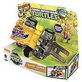 Turtles Half-Shell Heroes Mutant Loader Vehicle With Mikey Figure