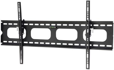 UM118L Black Universal Slim Tilting Wall Mount for up to 85 inch TVs