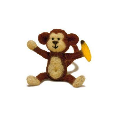 Dimensions Monkey Needle Felt Kit