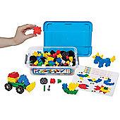 Morphun Junior Starter Building Bricks Set (Double Table Set)