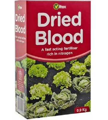 Vitax Dried Blood Organic Garden Fertiliser - 0.9kg